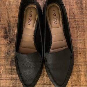 Me Too Women's Black Loafer, Size 9